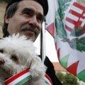 Jobbiki toetaja miitingul