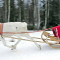 Jõulude eel tegi jõuluvana Rovaniemi kandis proovisõitu, et jõuluõhtul kärmelt kõigi kingisaajate juurde jõuda.