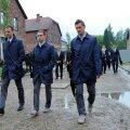 Saksa juutide juhti pahandas jalgpallikoondise väikesearvuline visiit Auschwitzi
