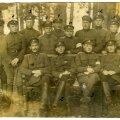 Grupipilt: soomusrongi nr. 4 võitlejad Vabadussõjas.