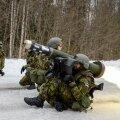 Esimest korda lasevad ajateenijad Eestis tankitõrjesüsteemist Javelin