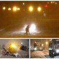 FOTOD JA VIDEO: Ajalooline lumetorm surus Washington D.C. põlvili