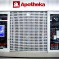 Suletud apteek Raplas, Rappeli Keskuses