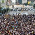 FOTOD ja VIDEO: Venezuela massimeeleavaldustel puhkes vägivald valitsuse toetajate ja vastaste vahel, hukkus kolm inimest