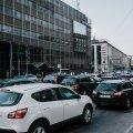 Liiklusummik Tallinna kesklinnas