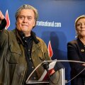 Steve Bannon ja Marine Le Pen