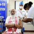 VIDEO | India peaminister Modi lasi endale süstida ebapopulaarset kodumaist vaktsiini