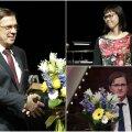 Õiguse eest seisja auhinna pälvinud Paul Varul, Saale Laos ja Indrek Niklus