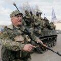Separatistide relvajõud Ukrainas Slovjanskis