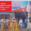 Politsei sulges viinapoe. Foto: Twitter.com/@SriramMADRAS