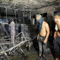 VIDEO | Tragöödia Iraagis: COVID-19 patsiente täis haiglas kärgatas hapnikumahuti ja lahvatas põleng, hukkus üle 80 inimese