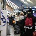 ФОТО | Спецрейсом Nordica из Лондона в Таллинн вывезли оказавшихся в западне жителей Эстонии