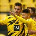 Jadon Sancho väravad tõid Dortmundi Borussiale võidu ja aitasid Müncheni Bayerni meistriks.