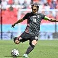 Horvaatia koondise staar Luka Modric.