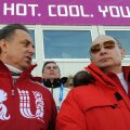 Vitali Mutko ja Vladimir Putin