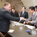 Sven Sester kohtus Jaapani siseasjade ja kommunikatsiooni komisjoni liikmetega