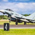 ФОТО   Истребители союзников в Эстонии начинают отработку взлета на форсаже