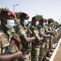 Mali sõdurid 22. septembril 2020 riigi 60. iseseisvus-aastapäeva tähistamas. (foto: EPA / Scanpix)