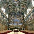 Konklaavi toimumispaik, Vatikani Sixtuse kabel suleti külastajatele