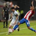 Lionel Messi juhitud Argentiina koondis jõudis Copa Americal veerandfinaali.