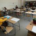 Tänavu olid eksaminandid ruumis rohkem hajutatud kui tavaliselt.