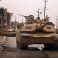 M1A2 Abrams tank Iraagis