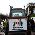 Peaminister Ansip käis koos Balti põllumeestega Brüsselis õigust nõudmas