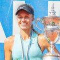 Esimest korda 15-aastaselt Eesti meister Maria Lota Kaul võitis 21-aastaselt kolmanda kulla.