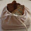 Kangast korvike, kuhu võib panna leivad, piparkoogid või õunad.