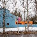 FOTOD   Arhitekt Vilen Künnapu loodud värvikas maja paneb möödujad peatuma