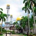 Maailma kõige majesteetlikumaks pühakojaks peetav Jame' Asr Hassanil Bolkiah' mošee.