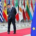 LÄKS VIST VEIDI VILTU: Jüri Ratas 30. juunil Euroopa Ülemkogu kohtumisel.