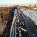 FOTOD   Riias põrkasid kokku seitse autot, buss ja troll