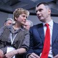 Irina Prohhorova oma multimiljonärist venna Mihhailiga. Viimane kandideeris ka Venemaa presidendiks ning asutas oma erakonna.