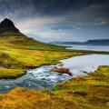 Islandi maastik.
