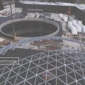 Ainulaadne arhitektuurilahendus ja eksklusiivne VIDEO | Kaubanduskeskuse T1 Mall of Tallinna katusele paigaldati hiiglaslikud klaasist ja terasest kuplid