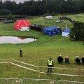 Ärev olukord Rally Estonial: reeglitele vilistaja lennutas kiirusekatse ajal drooni! Hetk hiljem lendas samast kohast üle helikopter