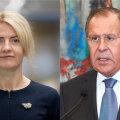 Välisministrid: Eva-Maria Liimets ja Sergei Lavrov