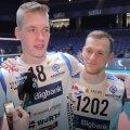 DELFI VIDEO | Tartu kangelased Alex Saaremaa ja Curtis Stockton andsid intervjuu kaelakuti koos
