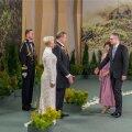 Presidendipaari kätleb Janek Mäggi abikaasa Kätliniga