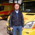 Regionaalhaigla reanimobiili osakonna juhataja Andrus Remmelgas
