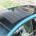 Päikesepaneel Toyota Priuse PHEV katusel