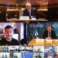 VIDEO | Hollandi ajakirjanik pääses Euroopa kaitseministrite salajasele videokonverentsile