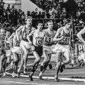 TIPPMARGI SÜND: Enn Sellik (number 591) Praha EM-il 10 000 meetri jooksus. Sündimas on tänaseni püsiv Eesti rekord 27.40,61.