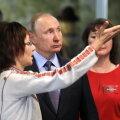 Venemaa president Vladimir Putin mari rahvusmuuseumis