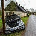 ФОТО | Нетрезвый водитель совершил аварию и скрылся с места ДТП