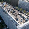 DROONIVIDEO ja FOTOD | Tallinna külje all Lool põles korterelamu katus