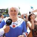 DELFI VIDEO: President Ilves katkestas Marina Kaljuranna paraadist muljetamise