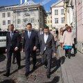 ФОТО: День Таллинна начался с открытия ворот премьер-министру