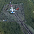 Опубликована расшифровка переговоров пилотов севшего на кукурузном поле Airbus